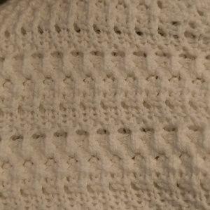 Banana Republic Sweaters - Banana Republic knit sweater white sz Small